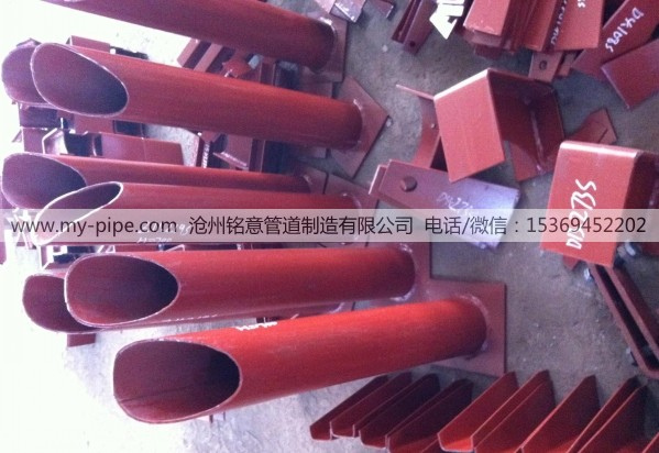 Hot pipe bracket